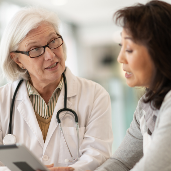 Working with your doctor toward better health.
